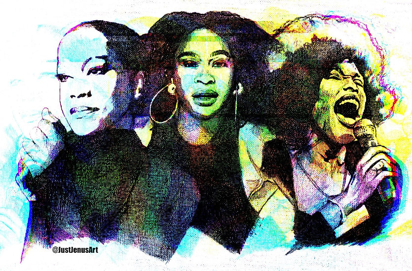"""""""Power Queens"""" Digital Prints"""