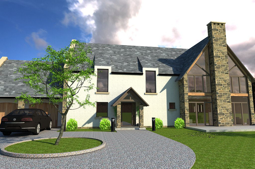 Bespoke House in Stirlingshire