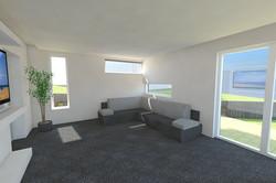 Modern extension interior