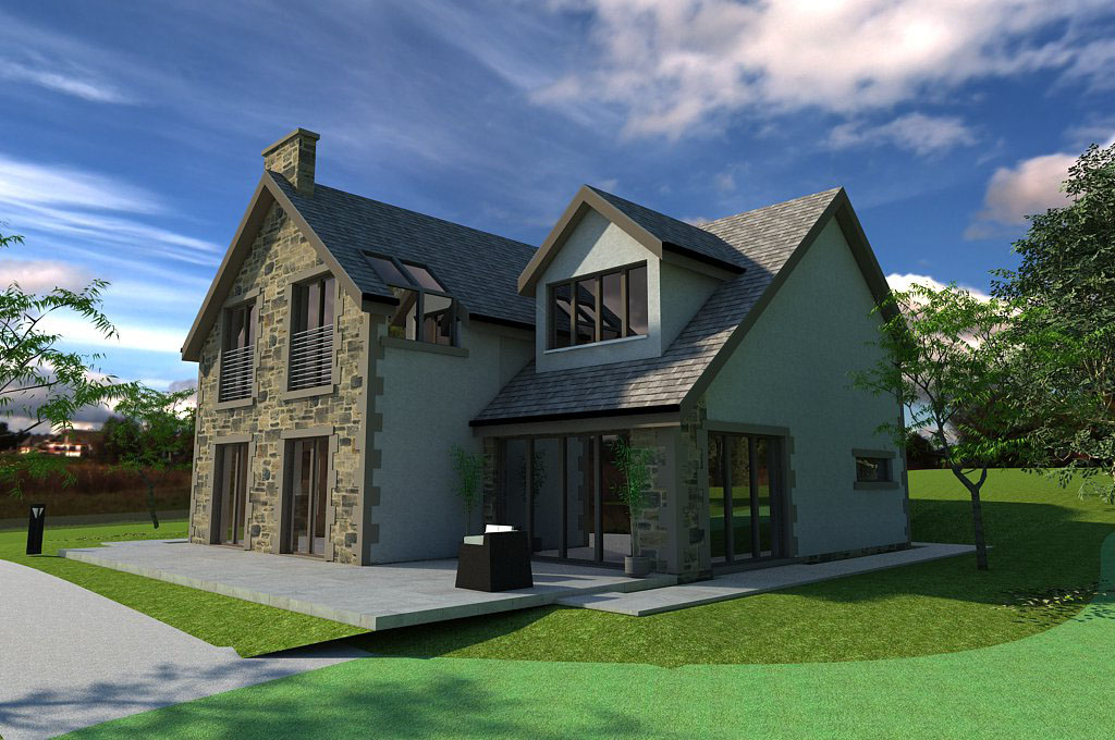 New House in Clackmannanshire area