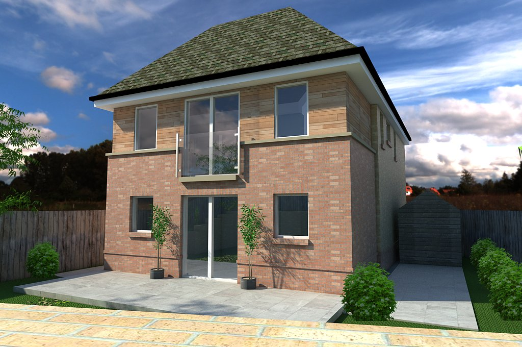 2-Storey Extension in North Lanarkshire