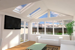 Sun Room extension in Stirlingshire