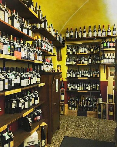 Enoteca vini italieni esteri