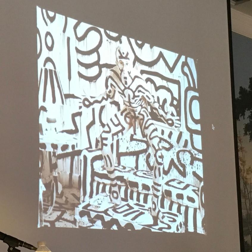 Keith Haring - Graffiti art