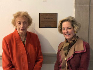 Unveiling of the Corcoran Women's Committee 60 Years Recognition Plaque and Reception