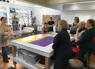 Artist Studio Visit: Printmaking