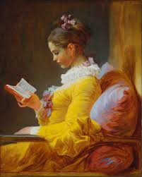 "Jean-Honoré Fragonard, ""Young Girl Reading,"" 1776, oil on canvas, 32 x 26 in."