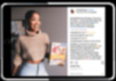 influencer marketing tablet