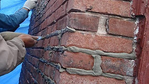 Repointing mota between bricks