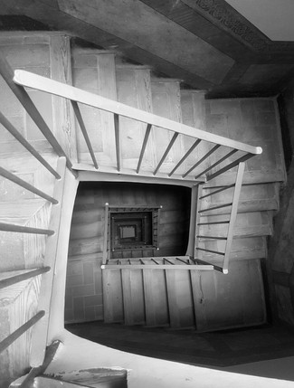 Catalonian spiral in my mind (BW)