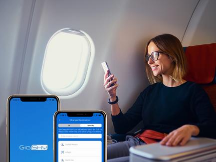 Panasonic Avionics Partners with GigSky on Inflight Connectivity