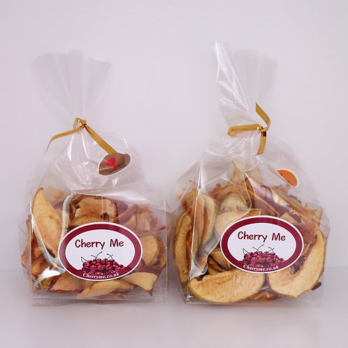 Crunchy Dried Apple Slices - 4 Bags