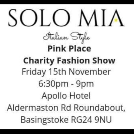 Pink Place Charity Fashion Show