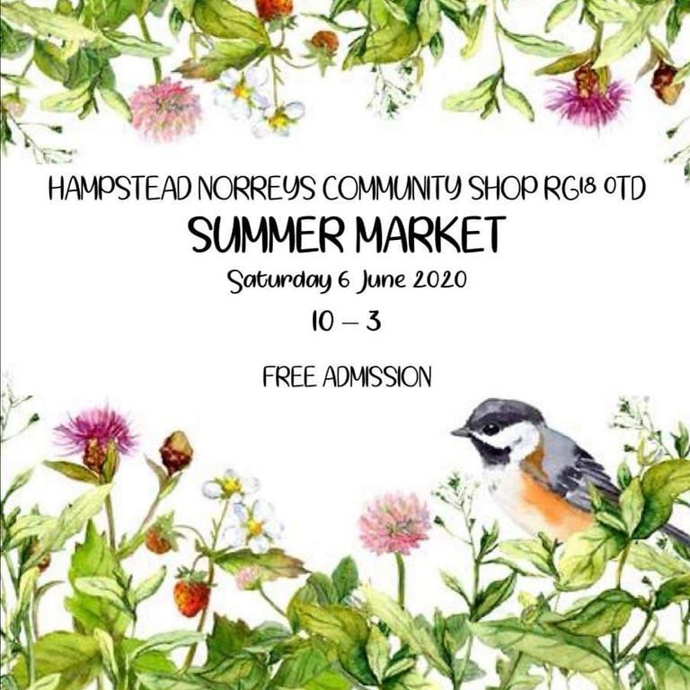 Hampstead Norreys Community Shop - Summer Market