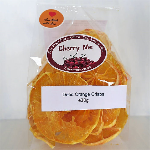 Dried Orange Crisps - 4 Bags