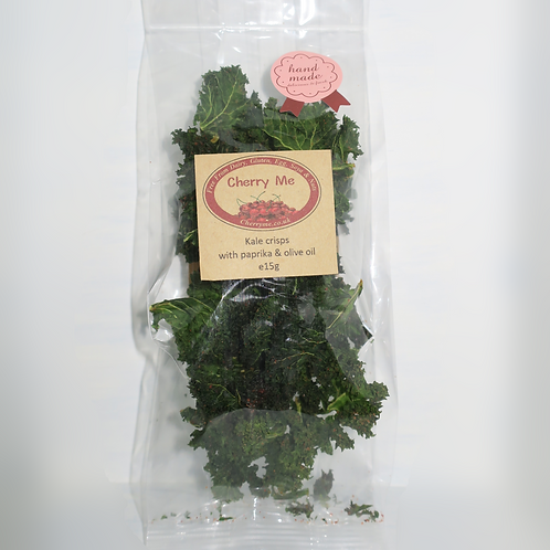 Kale Chips with Olive Oil and Paprika - 4 Bags