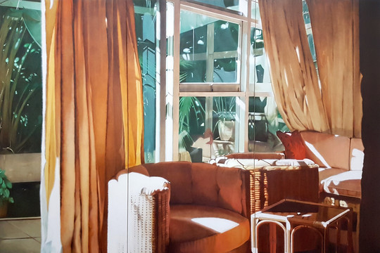 Interior with Bright Light