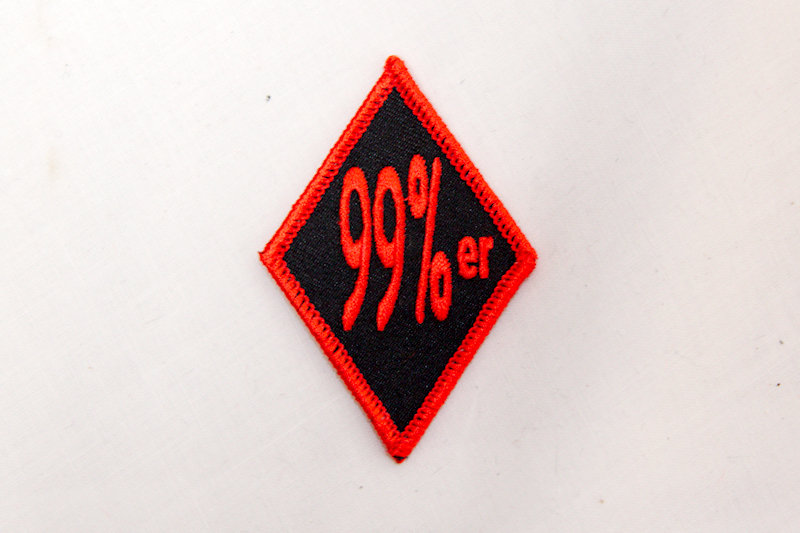 """99%er"" Sew/iron on patch"