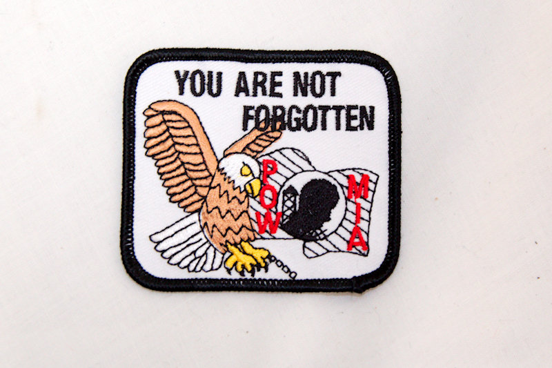 """""""Not Forgotten"""" Sew/iron on patch"""