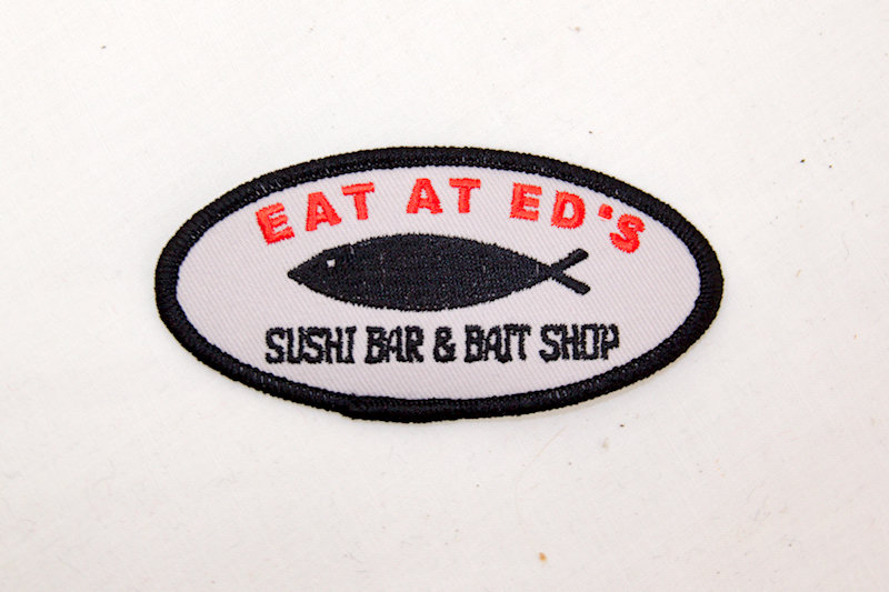 """Eat at Ed's"" Sew/iron on patch"