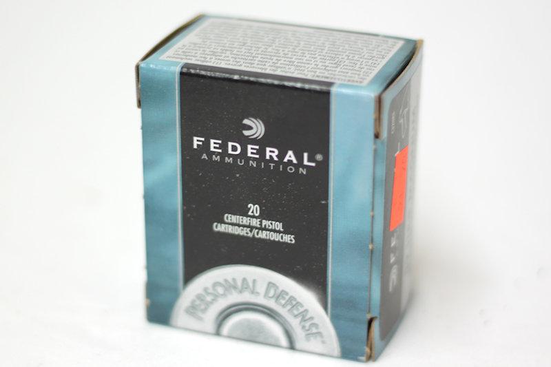 Federal 32h&r Magnum 85gr JHP