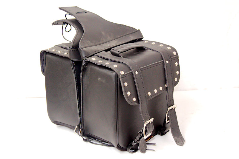 Hot Leathers 100% Genuine Leather Saddle Bags