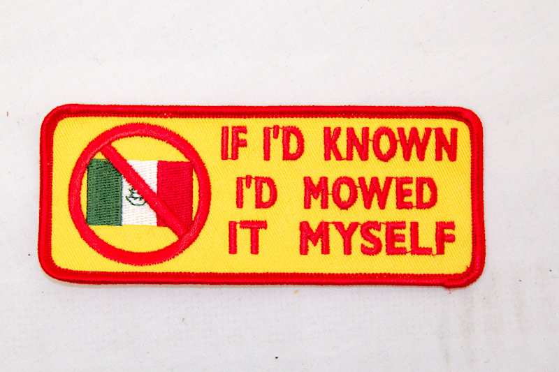 """""""If i'd Known"""" Sew/iron on patch"""
