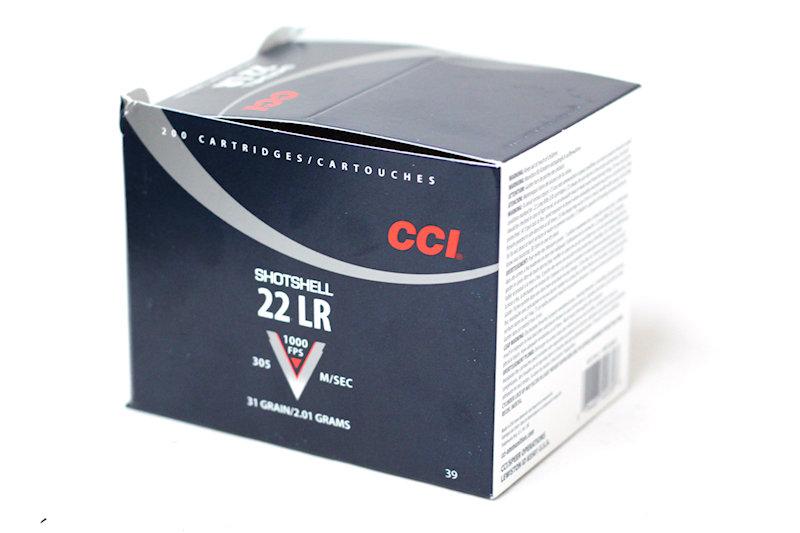 CCI 22lr #12 Shot 31gr (rat shot)