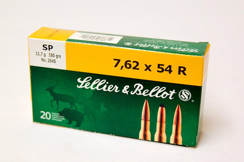 Lellier & Bellot 7.62x54R 180gr