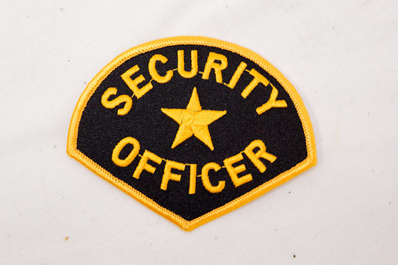 Security Officer Iron/Sew on Patch