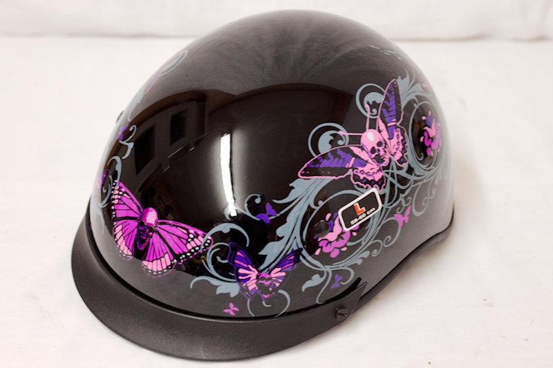 Outlaw Large Half Helmet. DOT cert