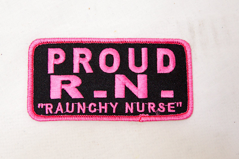 """""""Proud R.N."""" Sew/Iron on patch"""