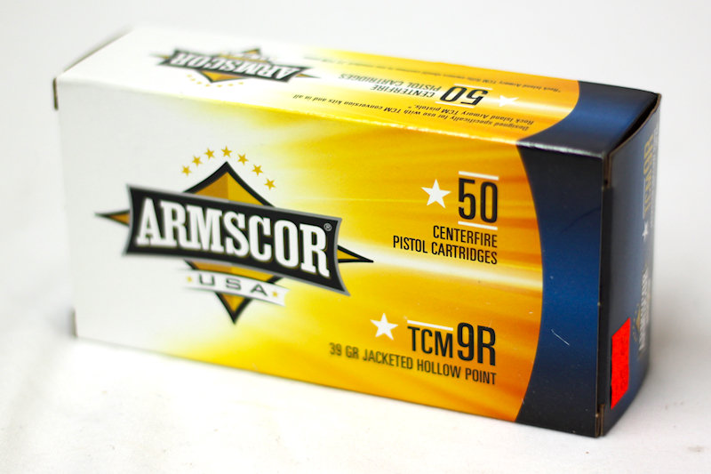 Armscor TCM9R 39gr JHP