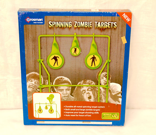 Spinning Metal Zombie Targets for bbs