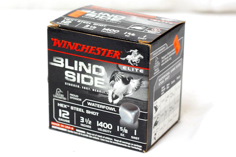 """Winchester Blind Side 12ga 3-1/2"""" 1-5/8oz 1 shot"""