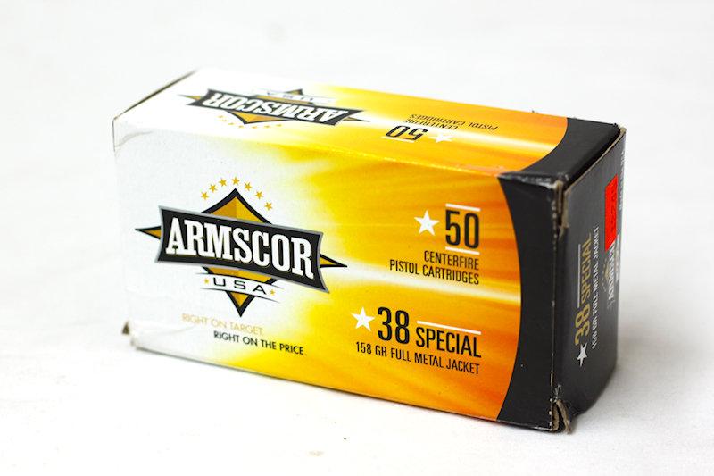 Armscor 38 Special 158gr FMJ