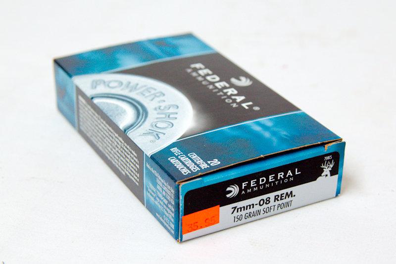 Federal 7mm-08 Rem. 150gr Soft Point