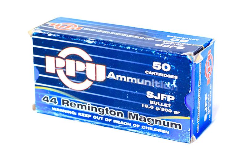 PPU 44 Remington Magnum 300gr SJFP
