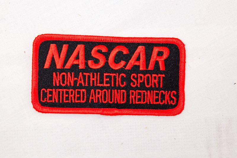 """NASCAR"" Sew/iron on patch"