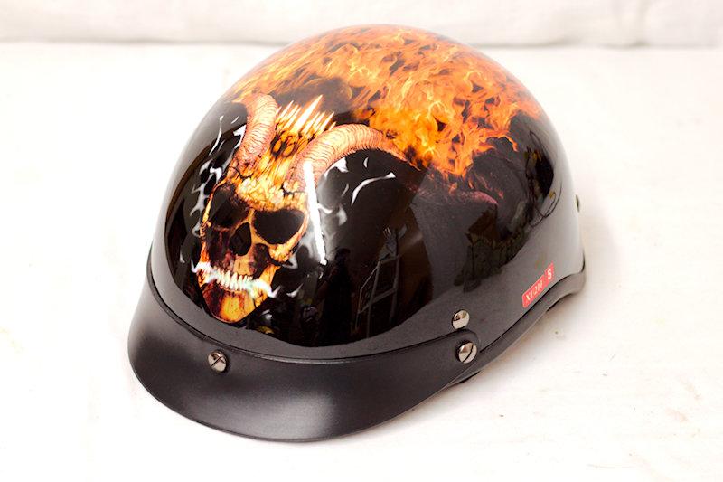 Outlaw Small Half Helmet. Dot Cert