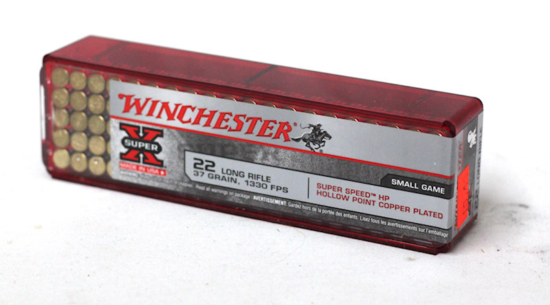 Winchester 22 LR 37gr Hollow Point