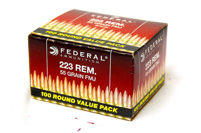 Federal .223 55gr FMJ