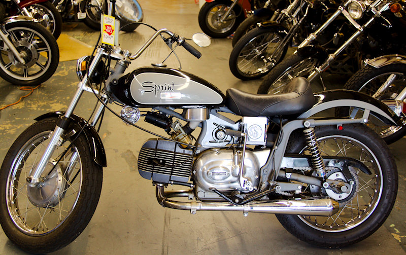 Harley Davidson 72 Spirit low miles.