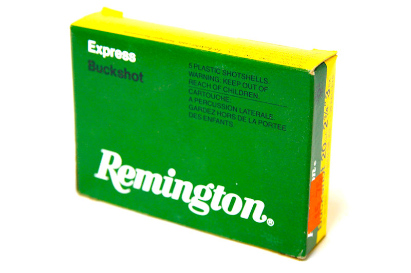 Remington 20ga 2-3/4 20 pellets 3 Buckshot