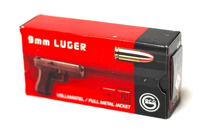Geco 9mm Luger FMJ 115gr