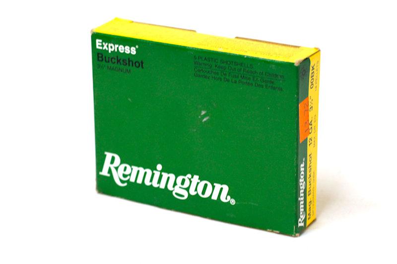 """Remington Buckshot Express 12ga 3-1/2"""" Mag"""