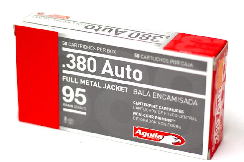 Aguila .380 Auto 95gr FMJ