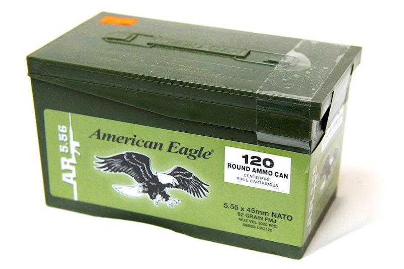 American Eagle 5.56x45 Nato 62gr FMJ