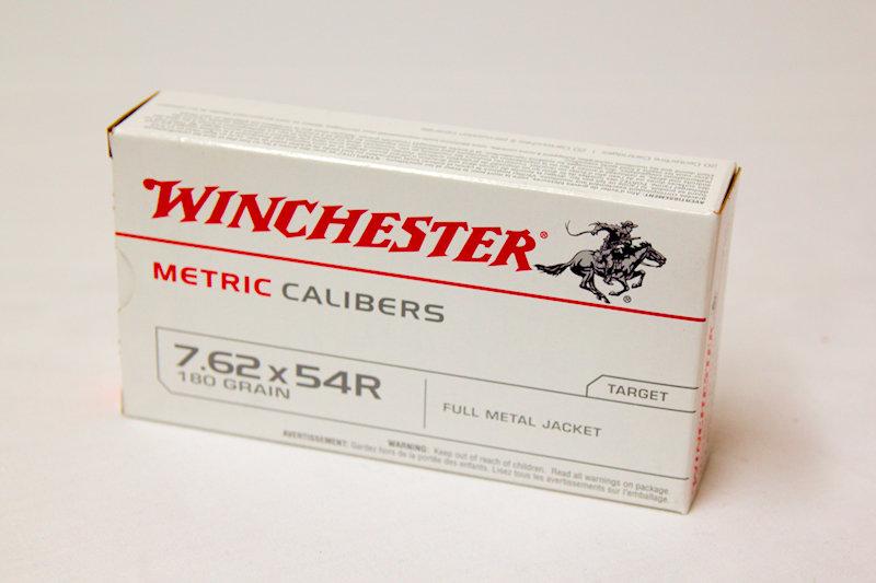 Winchester 7.62x54R 180gr FMJ