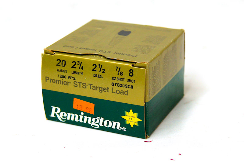 Remington 20ga 2-3/4 7/8oz #8Shot